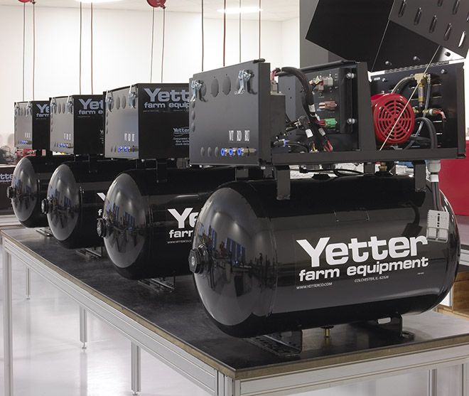 Hartfiel Automation provides technological solutions from Yetter to improve crop yield and crop management