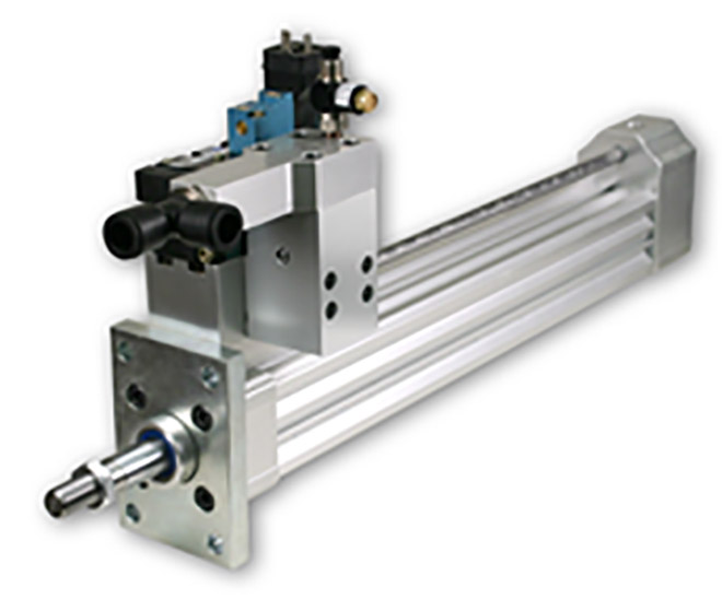 Hartfiel Automation provides stretch rod cylinder to improve bottling manufacturing