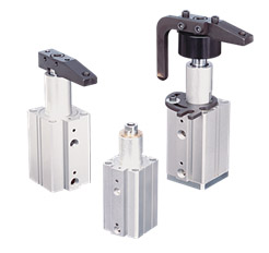 Series PB Versatile Pneumatic Swing Clamps
