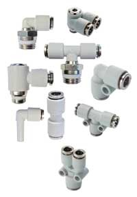 Pneumatic fittings