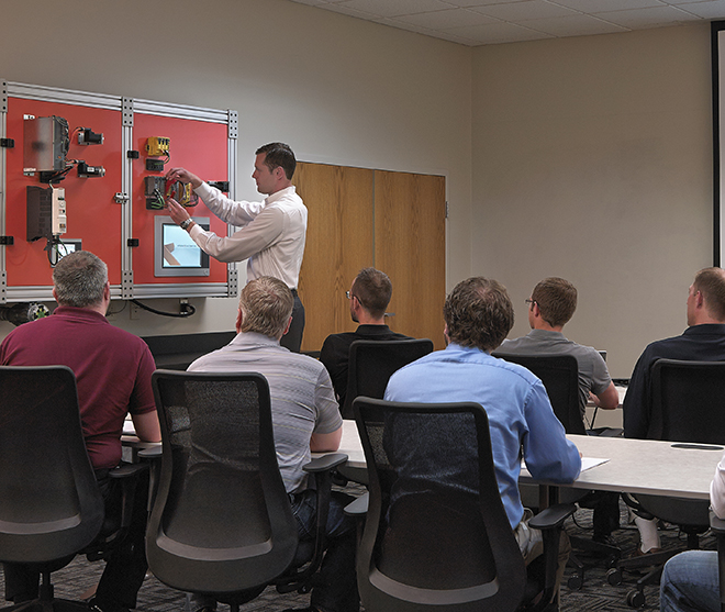 Employees at Hartfiel Automation regularly attend training as part of our culture