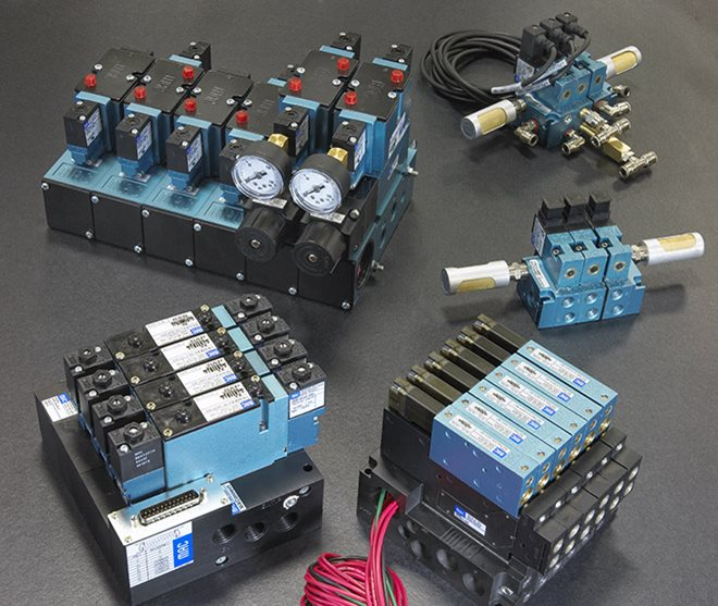 Hartfiel Automation offers Pneumatic valves, cylinder, actuators and more