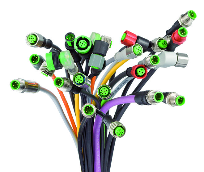 Hartfiel Automation offers cables and cord sets to support industrial protocols including, Ethernet, CAT, ProfiNet, Sercos, and many more